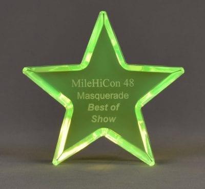 Cast Back Glow Star
