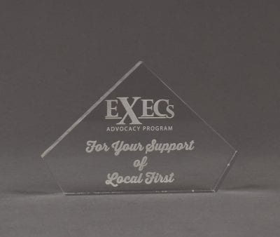 PES Acrylic Peak Award
