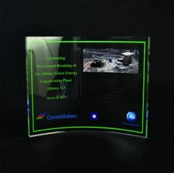 Full Color Printed Award Example 12