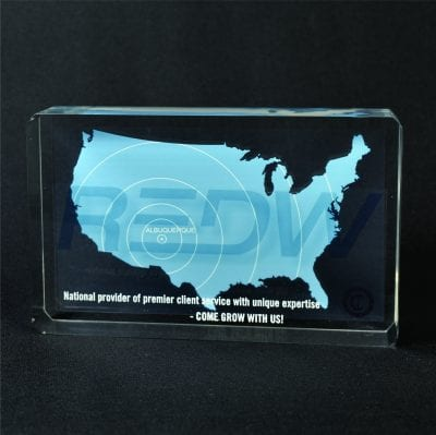 Lucite Rectangle Embedment