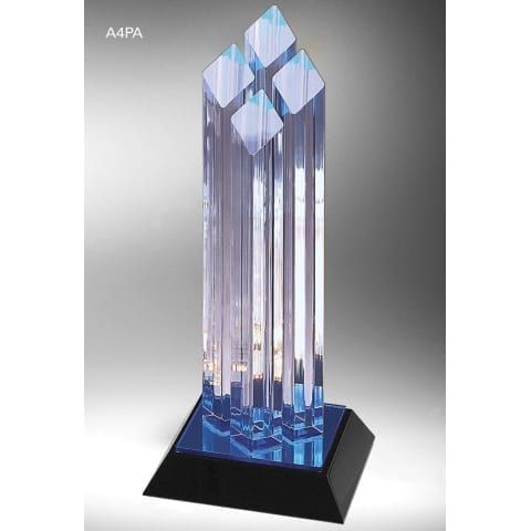A4PA09 Acrylic Corporate Trophy Award