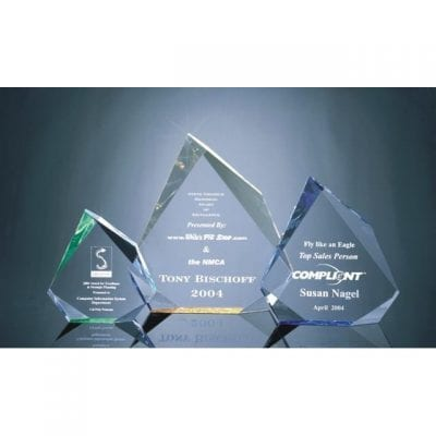 MRHS Faceted Acrylic Mountain Award