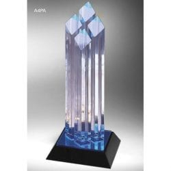A4PA12 Acrylic Corporate Trophy Award