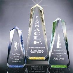 OB1S Acrylic Obelisk Award