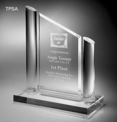 TPSA10 Corporate Series Slant Top Award