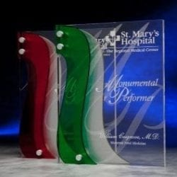 3LRV10 Acrylic Corporate Classic Rivers Award