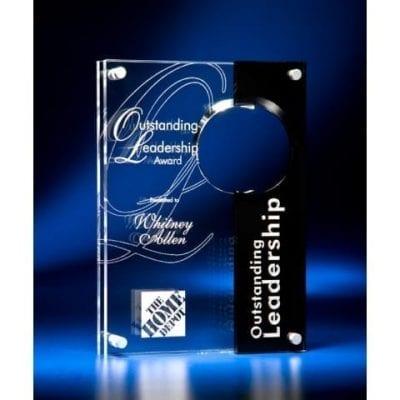 TLCR10 Lucite Concept III Award