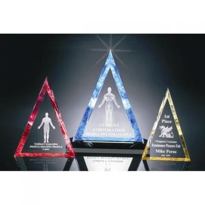 P200S Beveled Triangle Acrylic Award
