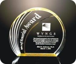 CRLNOST Acrylic Circle Award