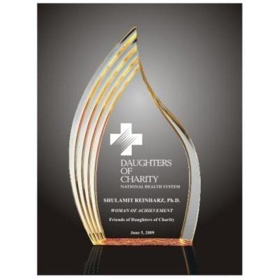 Acrylic Step Flame Award