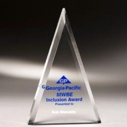 MCTA07 Acrylic Triangle Award