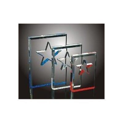 BSC0-M Acrylic Beveled Star Award