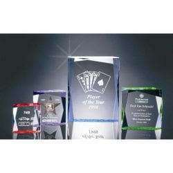 BR150L Acrylic Block Award