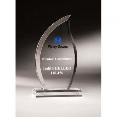 EBAF09 Acrylic Blaze Award