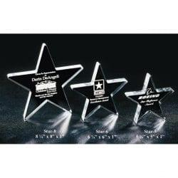 STAR5 Acrylic Star Award