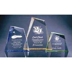 MP1S Beveled Mountain Peak Award