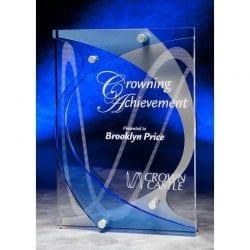 3LHO09 Acrylic Corporate Classic Hooks Award