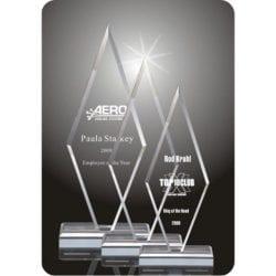 Acrylic Arrow Point Award