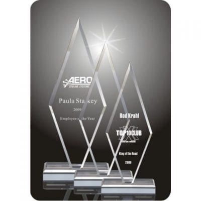 Acrylic Arrow Point Award