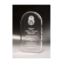 MCOMO6 Acrylic Oval Mini Award