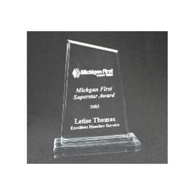 APS Lucite Apex Trophy with Base