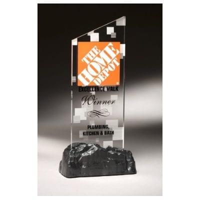 EZ0112 Acrylic Slant Top Trophy