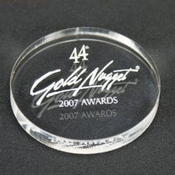 MPC3.5 Circle Paperweight Award