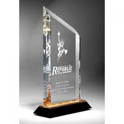 CGBZ14 Acrylic Recognition Carrington Trophy