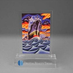Full Color Printed Award Example 7