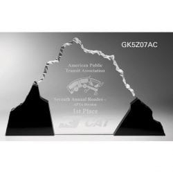 GK5Z07 Acrylic Mountain Perspective Award