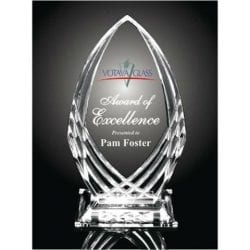 KH01 Waterford Crystal Cut Acrylic Award