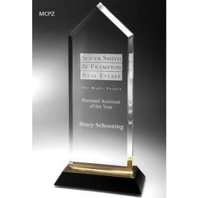 MCPZ09 Peak Acrylic Tower Trophy