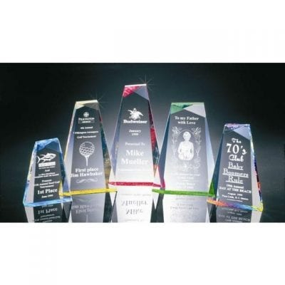BR016L Acrylic Pinnacle Recognition Award