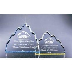 BSAL Acrylic Beveled Summit Award