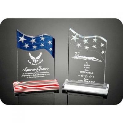 3DSS Acrylic Stars & Stripes Award
