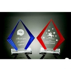 ZKO8 Diamond Acrylic Step Side Award