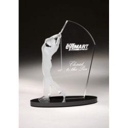 SIGM07 Male Acrylic Golf Award