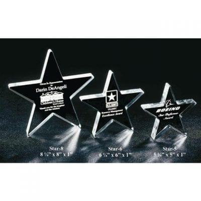 STAR8 Acrylic Star Award