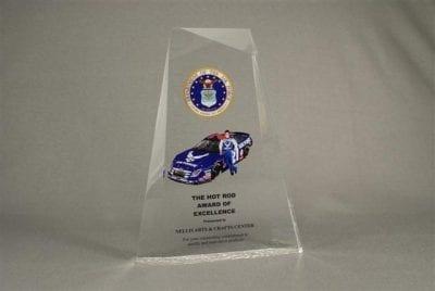 Full Color Printed Award Example 9