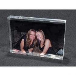 Acrylic Side in Picture Frame
