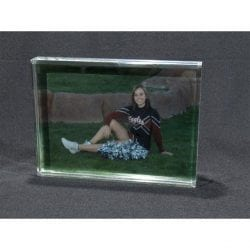 Acrylic Slide in Picture Frame