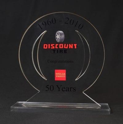 Custom Shaped Cut Out Award