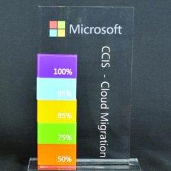 Custom Perpetual Cut Out Award