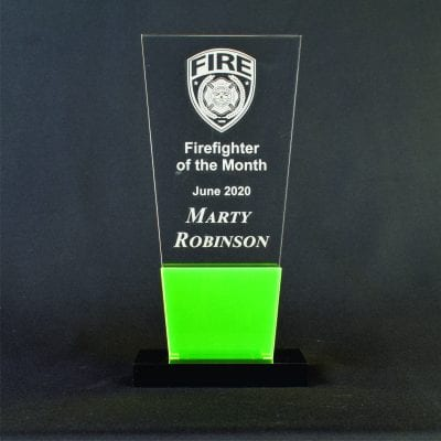 20009 Tower Award with Accent