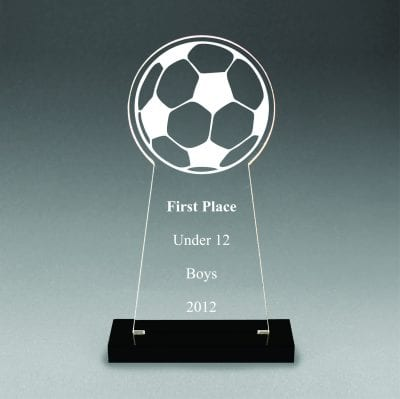 CNS Acrylic Soccer Award