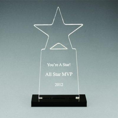 CNS Acrylic Tower Star Award