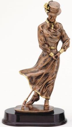 Antique Female Golfer Award