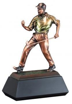 Fist Bumping Golfer Award