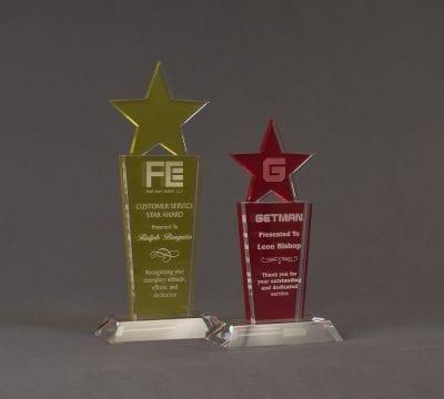 Starry Nebulous Acrylic Award