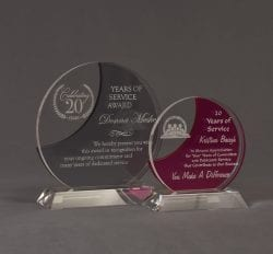 Evolution Nebulous Acrylic Award